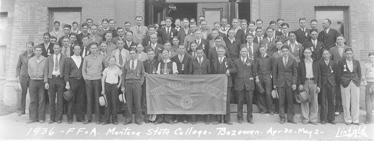 1936 FFA - Montana State College - Bozeman, Montana