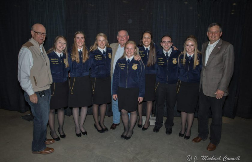 Montana FFA Ag Summit featuring the Montana FFA State Officers, Secretary of Agriculture - Sonny Perdue, Senator Steve Daines, and Chairman of the Senate Agriculture Committee - Pat Roberts.