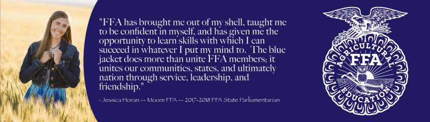 Jessica Horan FFA Impact Story