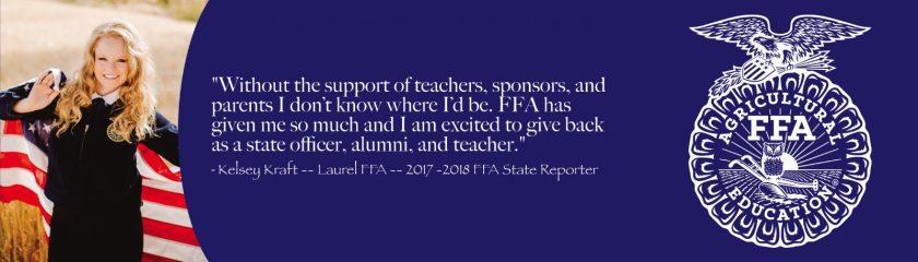 Kelsey FFA Impact Story