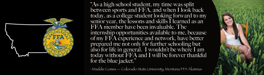 Maddie Comes Alumni Impact Story