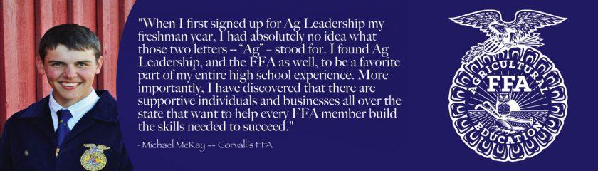 Michael McKay FFA Impact Story