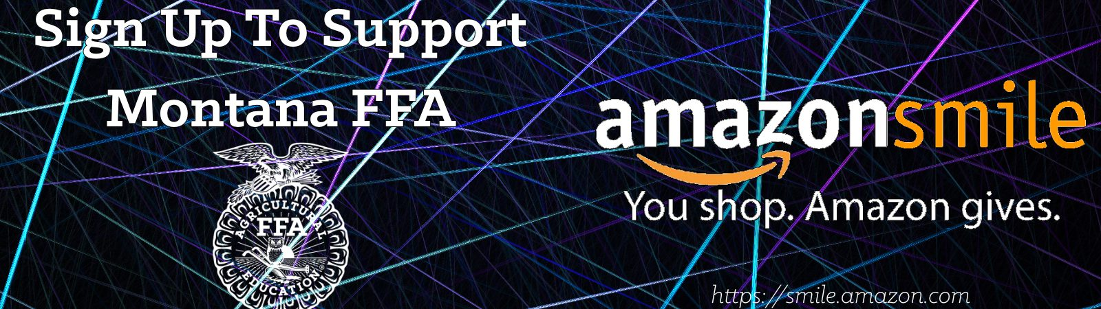 Support Montana FFA through Amazon Smile